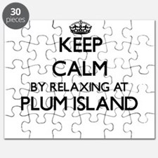 Keep calm by relaxing at Plum Island Massac Puzzle
