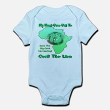 My Heart Goes Out To Cecil The Lio Infant Bodysuit