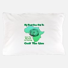 My Heart Goes Out To Cecil The Lion Pillow Case