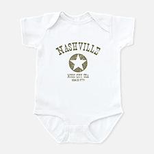 Nashville Since 1779 D4 Infant Bodysuit
