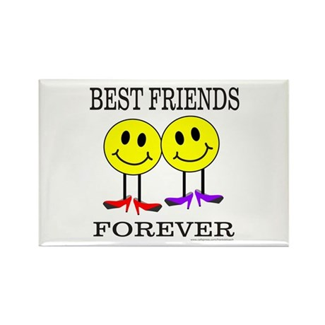 BFF BEST FRIENDS FOREVER Rectangle Magnet (10 pack