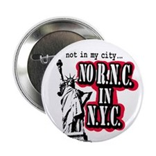 Not in NYC Button