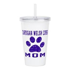 Cardigan Welsh Corgi m Acrylic Double-wall Tumbler