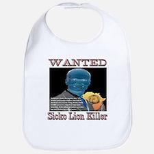 WANTED SICKO LION KILLER Bib