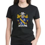 Abelda Family Crest Women's Dark T-Shirt