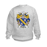 Abelda Family Crest Kids Sweatshirt