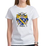 Abelda Family Crest Women's T-Shirt