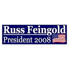 Russ Feingold 2008 (bumper sticker)