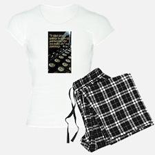 """""""Courage"""" Vintage Typewrite Pajamas"""