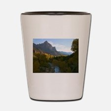 Zion Ntional Park Shot Glass