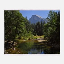 yosemite national park/ Throw Blanket