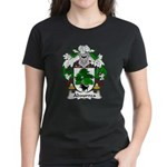 Abaurrea Family Crest Women's Dark T-Shirt