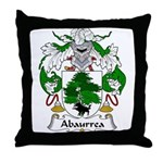 Abaurrea Family Crest Throw Pillow