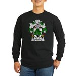 Abaurrea Family Crest Long Sleeve Dark T-Shirt
