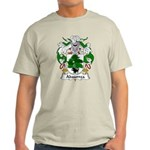 Abaurrea Family Crest Light T-Shirt