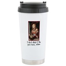 Cute Red head Travel Mug