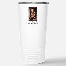 Red head Travel Mug
