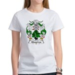 Abaurrea Family Crest Women's T-Shirt