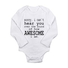 Cool The sounds Long Sleeve Infant Bodysuit