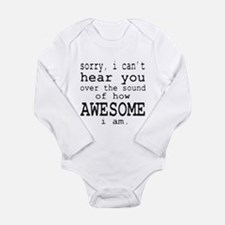 Unique How Long Sleeve Infant Bodysuit