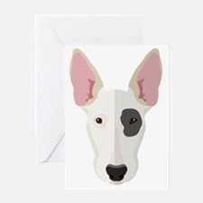 Cute Staffordshire terrier Greeting Card