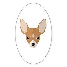 Cute Chihuahua cartoon Decal