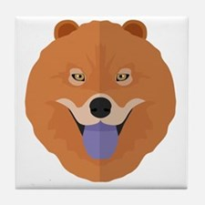 Cool Chow Tile Coaster