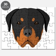Cute Rottweiler dog Puzzle