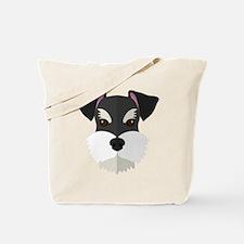 Unique Schnauzer puppy Tote Bag