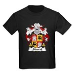 Abascal Family Crest Kids Dark T-Shirt