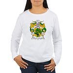 Abarrategui Family Crest Women's Long Sleeve T-Shi