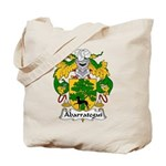 Abarrategui Family Crest Tote Bag