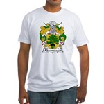 Abarrategui Family Crest Fitted T-Shirt