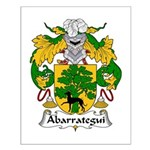 Abarrategui Family Crest Small Poster