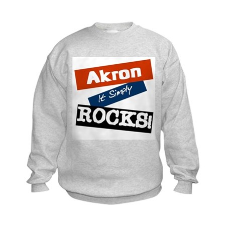 Aho Falls Rocks Kids Sweatshirt