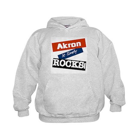 Aho Falls Rocks Kids Hoodie