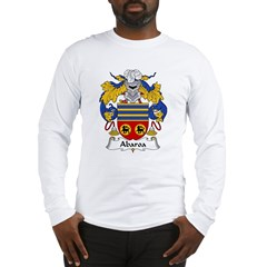 Abaroa Family Crest Long Sleeve T-Shirt