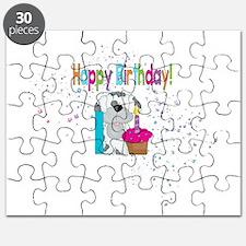 Happy 1st Birthday Puzzle
