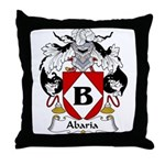 Abaria Family Crest Throw Pillow