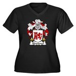 Abarbanel Family Crest Women's Plus Size V-Neck Da