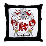 Abarbanel Family Crest Throw Pillow