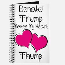 Trump - Heart Thump Journal