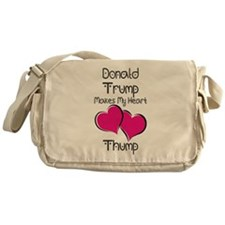 Trump - Heart Thump Messenger Bag