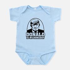 Trump Is My Homeboy Body Suit