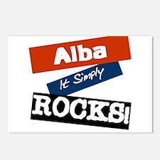 Alba Rocks Postcards (Package of 8)