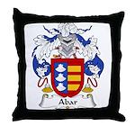 Abar Family Crest Throw Pillow