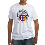 Abar Family Crest Fitted T-Shirt