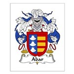 Abar Family Crest Small Poster
