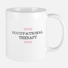 OT Occupational Therapy Hearts Mugs