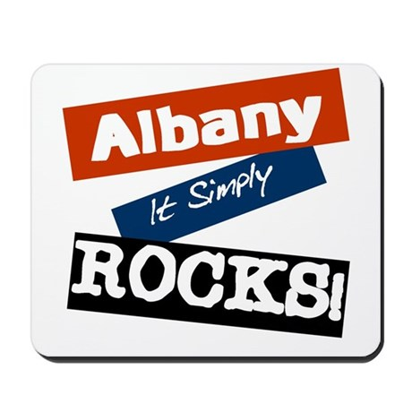 Albany Rocks Mousepad
